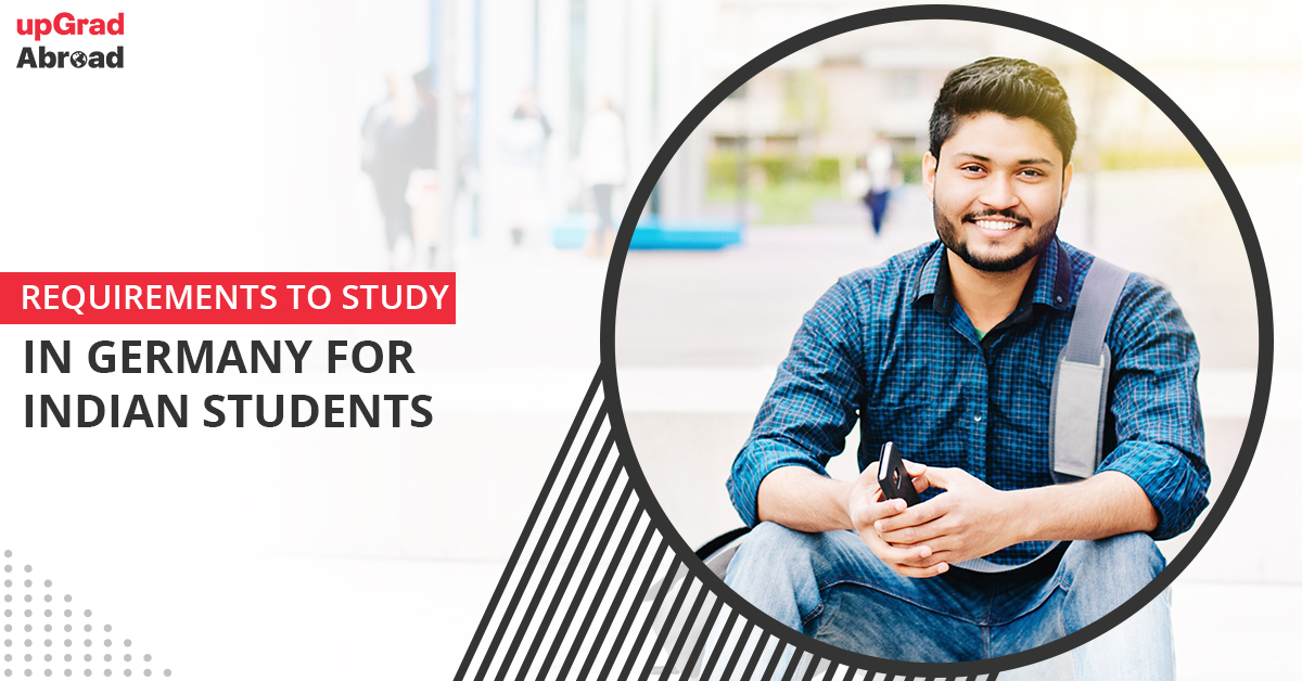 requirements to study in germany for indian students