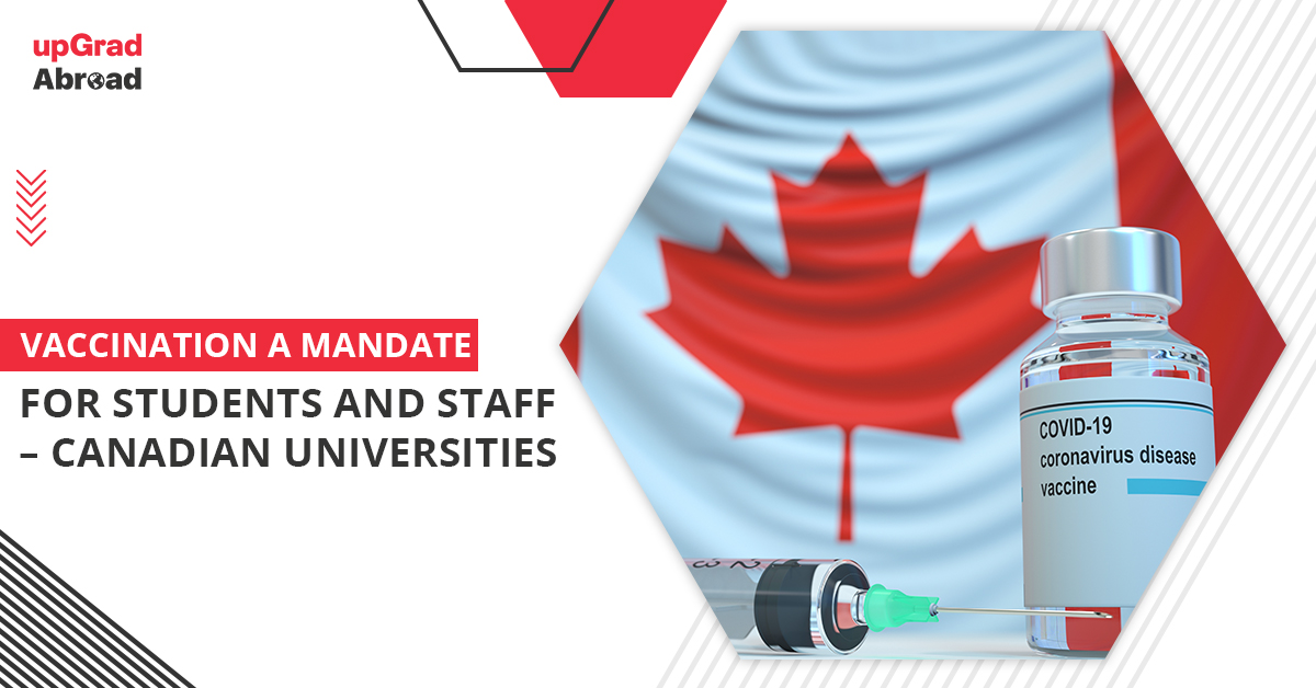 Canadian universities mandate vaccination for students and staff