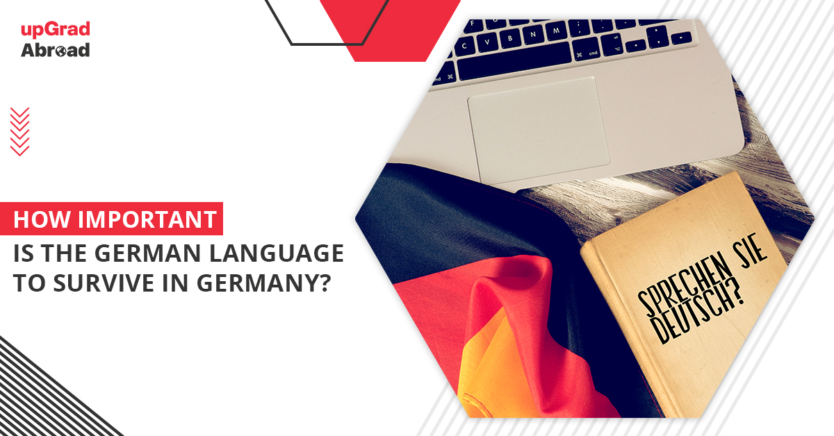 How important is the German language to survive in Germany