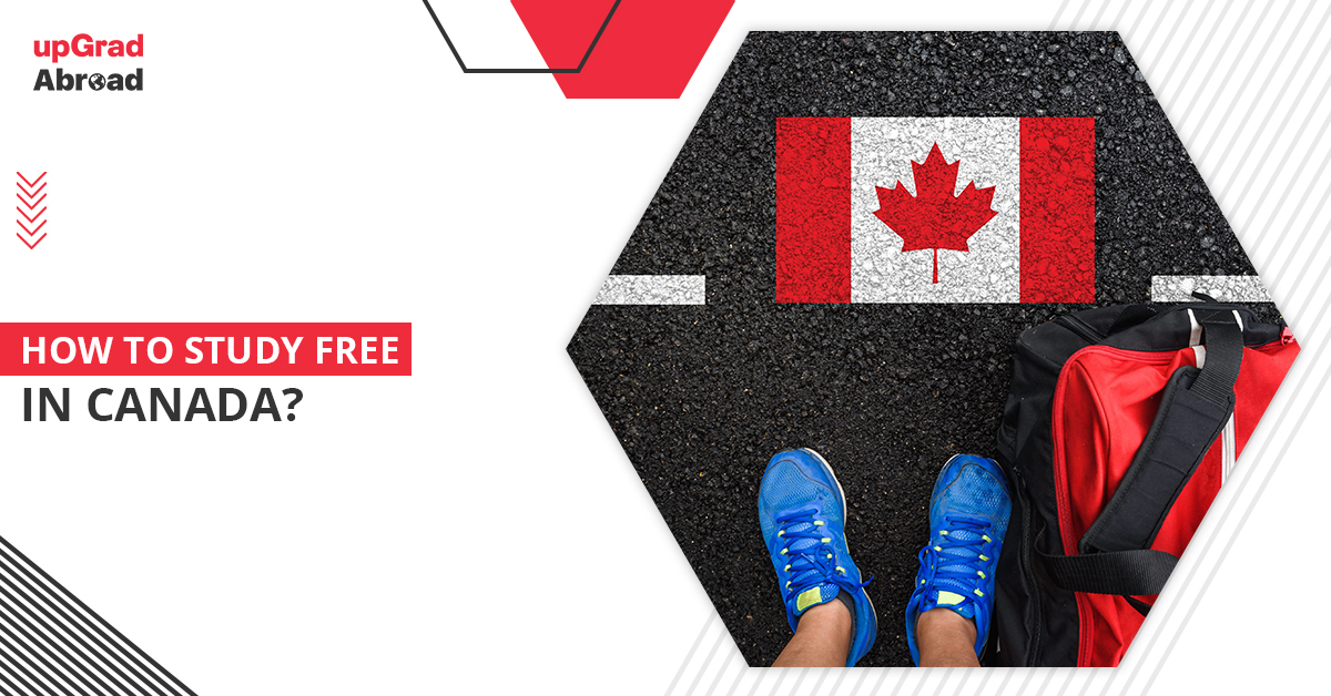 How to study free in Canada