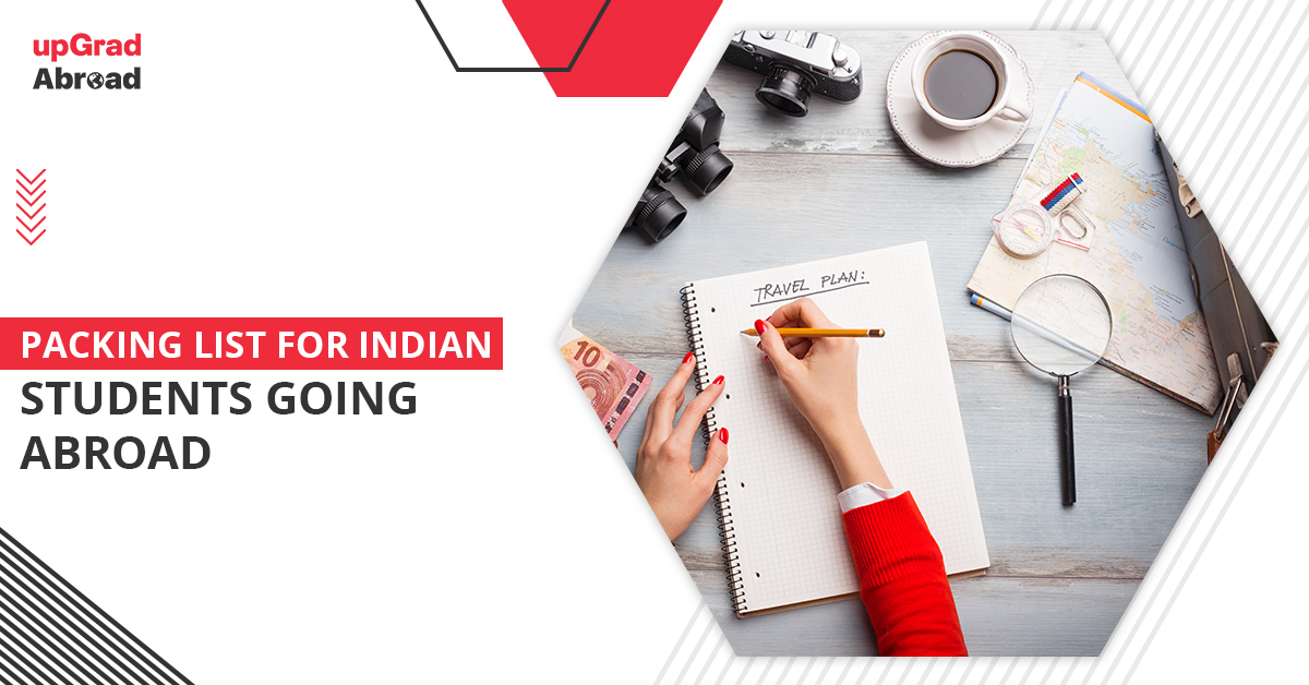 Packing list for Indian students going abroad