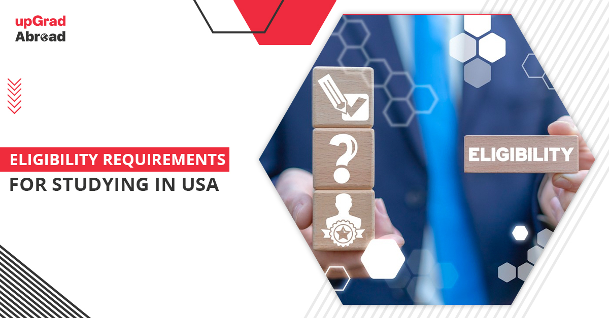 Requirements for studying in USA