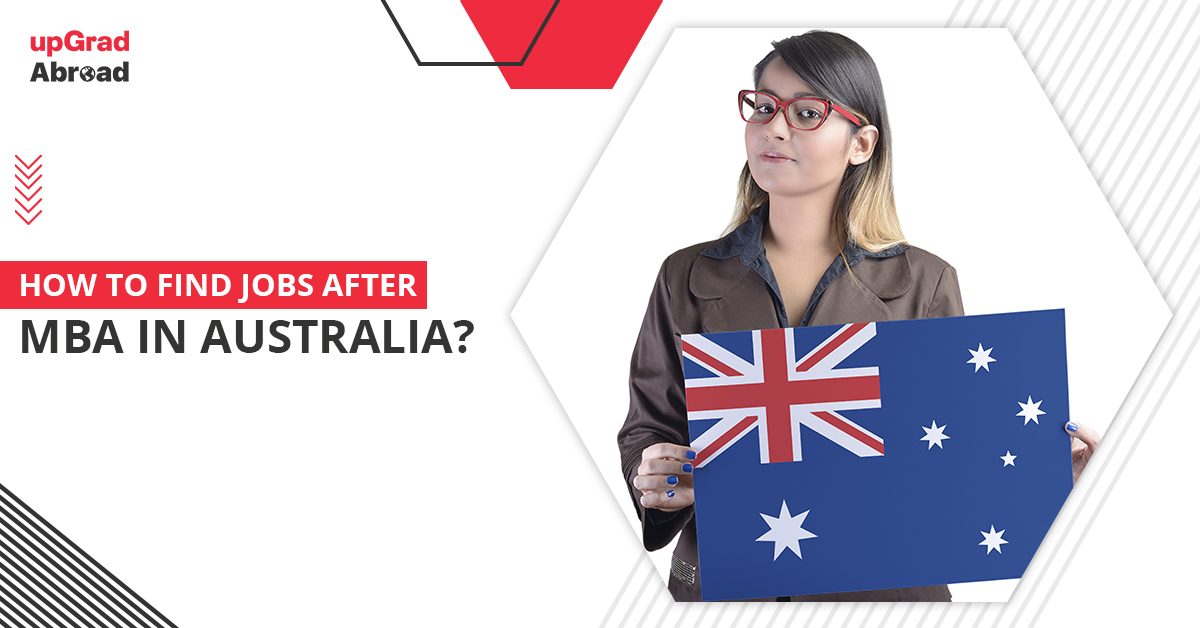 jobs after mba in australia