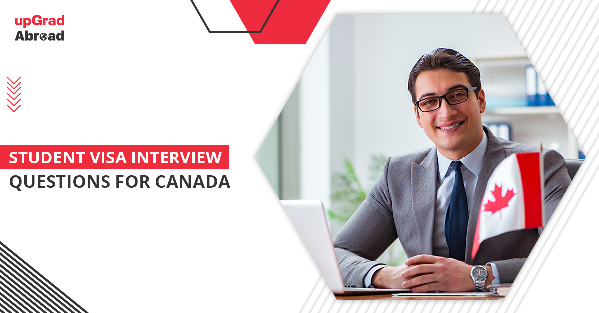 student visa interview questions for canada
