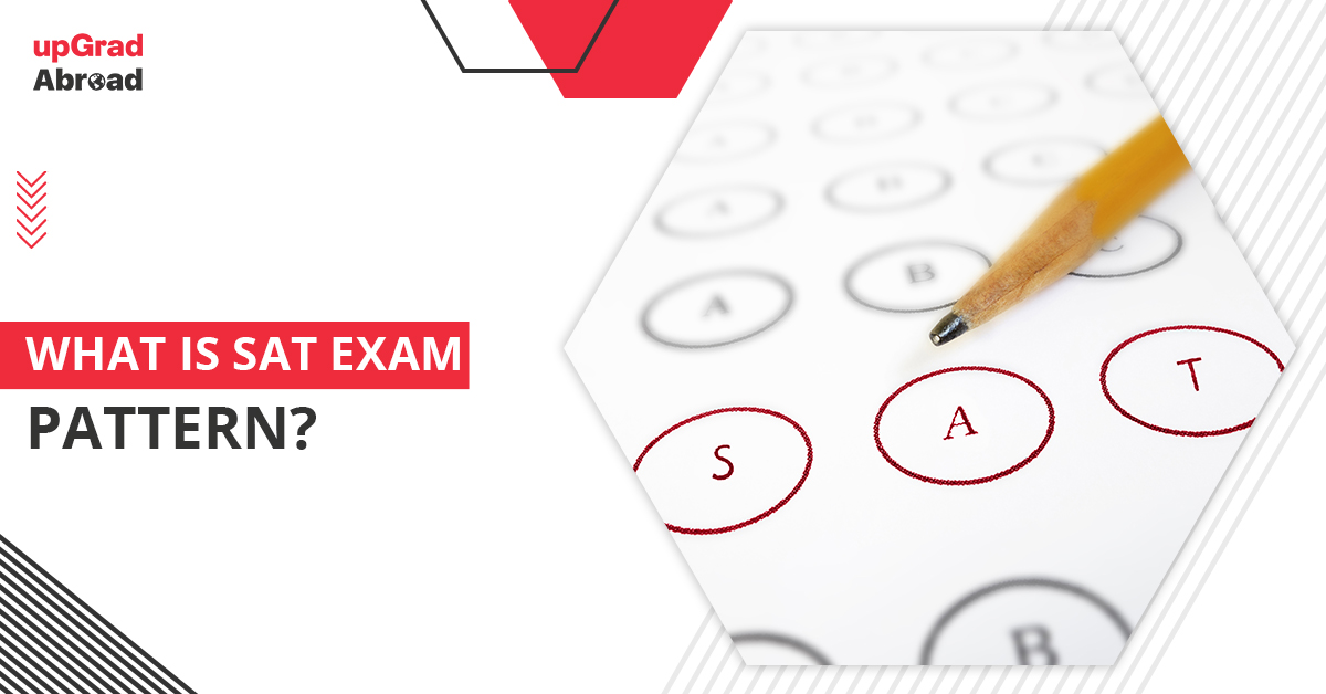 what is SAT exam pattern
