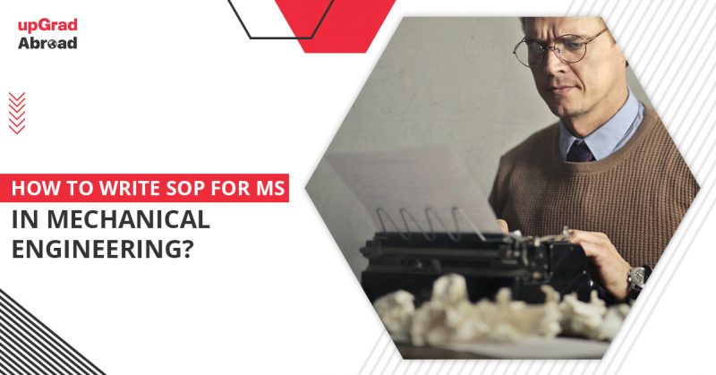 SOP for MS in mechanical engineering