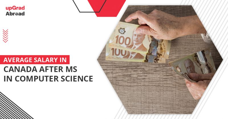 average salary in canada after ms in computer science