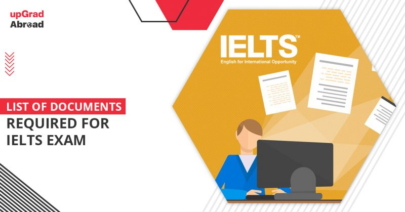 documents required for ielts exam