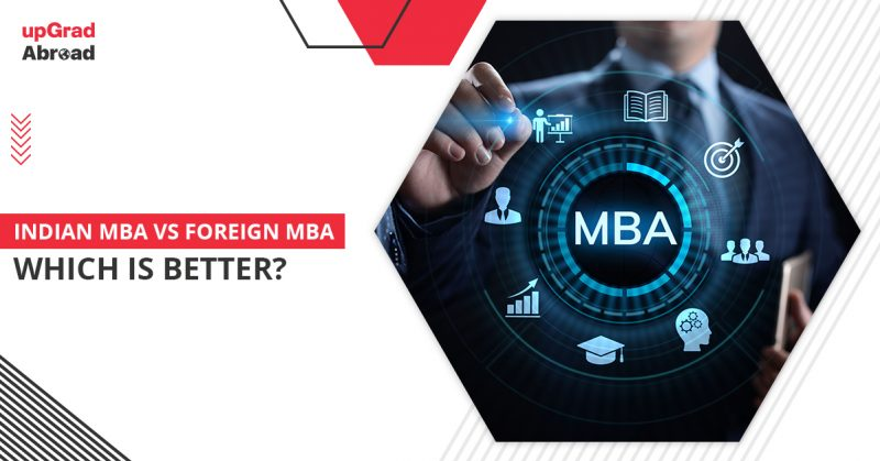 mba in india or abroad