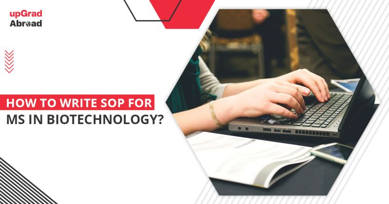 sop for ms in biotechnology