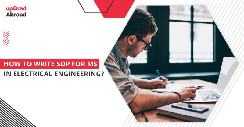 sop for ms in electrical engineering